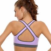 Criss-cross Back Sports Bras