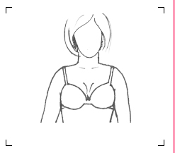 Firm and full breast shape