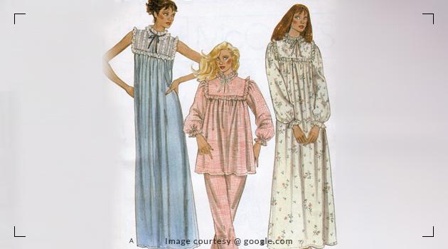 Evolution of Nightwear