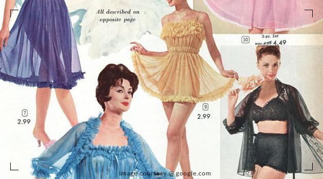 Glitz and glamour in nightwear